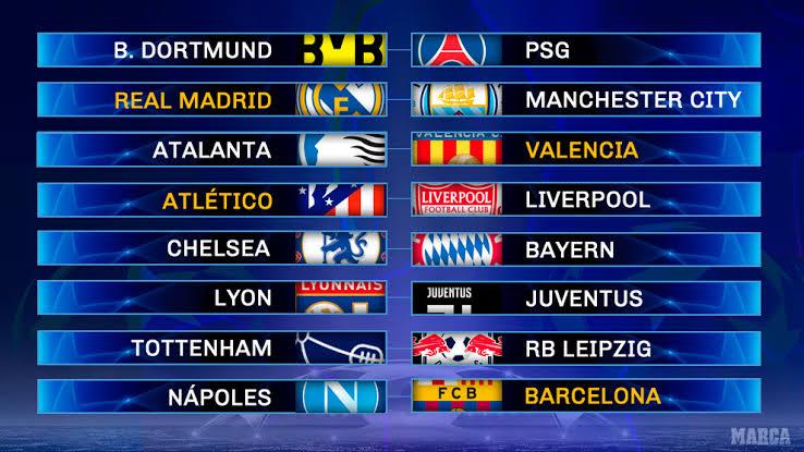 Champions League resultados: Así quedaron los cruces para octavos