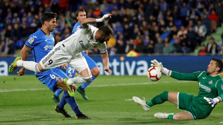 la liga getafe vs real madrid