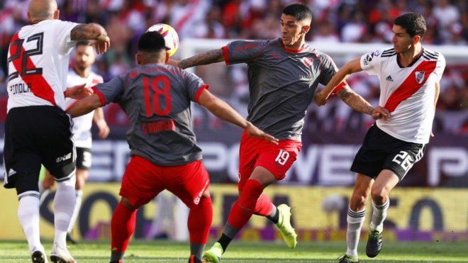 River visita a Independiente en busca de alcanzar el liderato