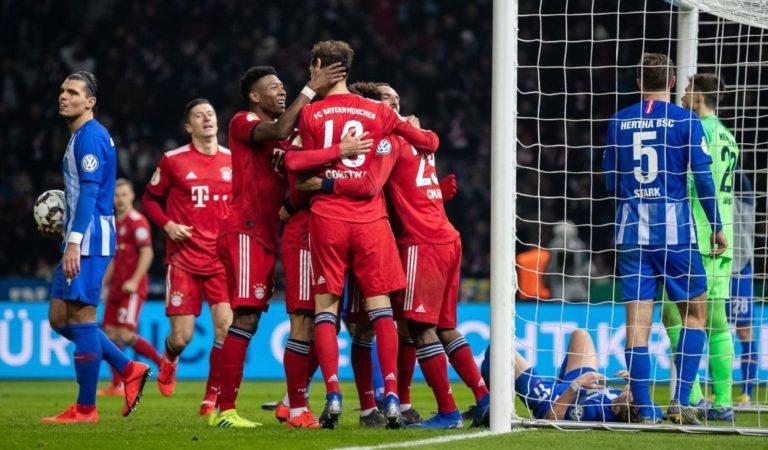 Pronóstico Hertha Vs Bayern, y a cuanto se paga el gol de Coutinho