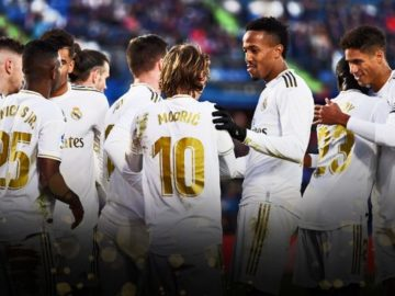 la liga real madrid vs levante