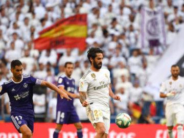 Real Madrid Valladolid liga española