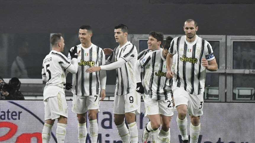 Juventus frente a Roma