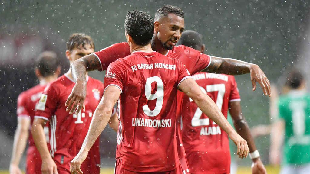 Bayern Múnich en la fecha 23
