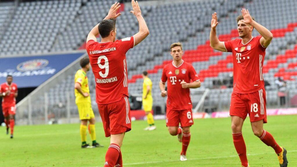 Aportar por este partido de Bundesliga
