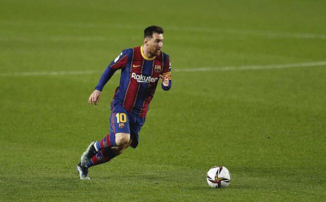 Lionel Messi en la Champions