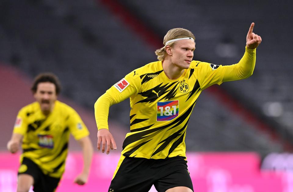 Erling Haaland jugador destacado