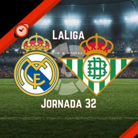 Real Madrid vs Betis   Pronósticos para Apostar en LaLiga