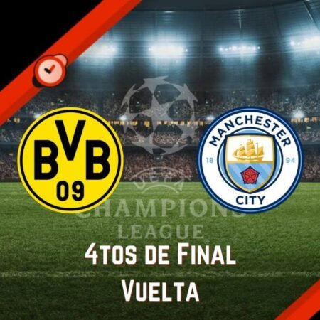 Dortmund vs. Manchester City | Pronósticos Champions League y Mejores Cuotas para Apostar