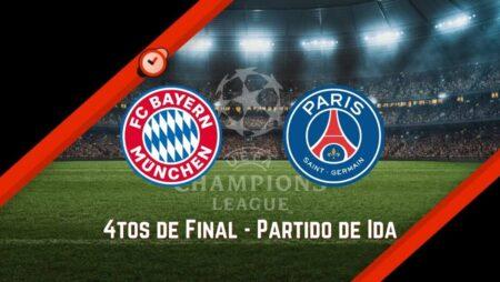Bayern Münich vs. PSG | Pronósticos UCL y Mejores Cuotas para Apostar