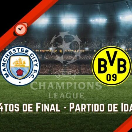 Manchester City vs Dortmund | Pronósticos UCL y Mejores Cuotas para Apostar