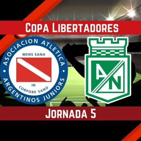 Argentinos Juniors Vs. Atlético Nacional | Pronósticos para apostar en Copa Libertadores