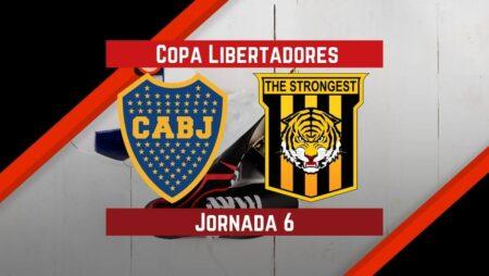 Boca Juniors vs The Strongest   Pronósticos para apostar en Copa Libertadores