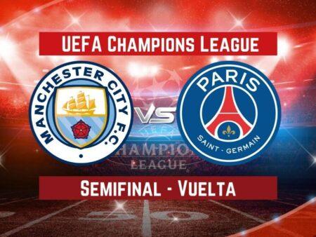 Manchester City vs. PSG | Pronósticos para apostar en Champions League