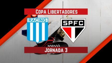 Racing vs Sao Paulo | Pronósticos para apostar en Copa Libertadores
