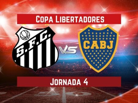 Santos vs Boca Juniors | Pronósticos para apostar en Copa Libertadores