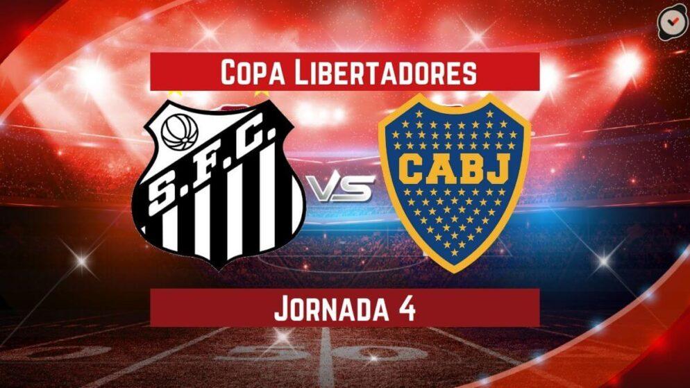 Santos vs Boca Juniors   Pronósticos para apostar en Copa Libertadores