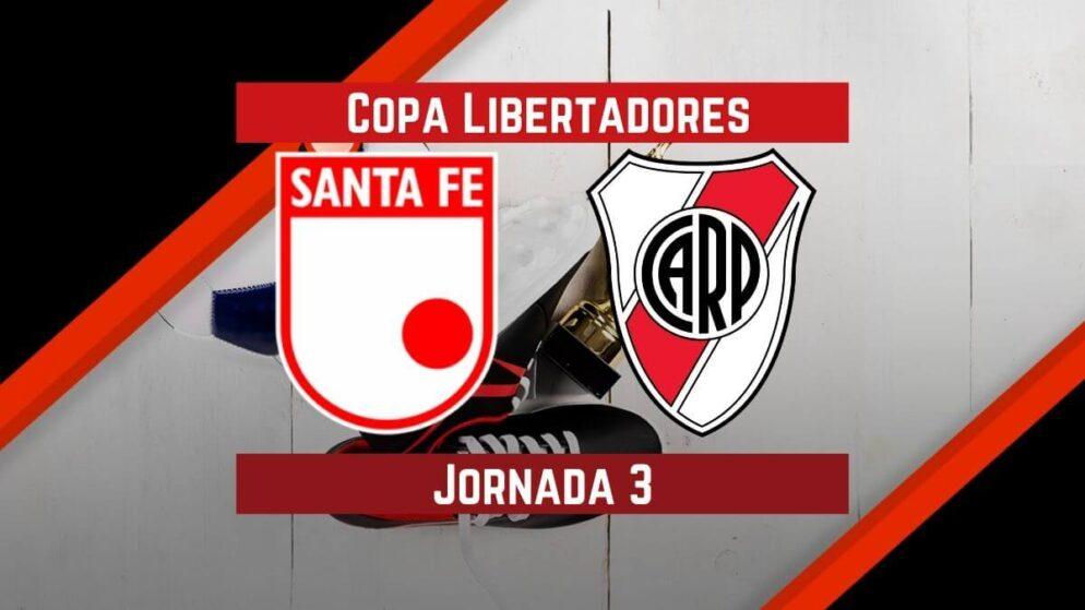 Santa Fe vs River Plate | Pronósticos para apostar en Copa Libertadores