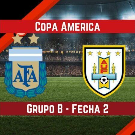 Argentina vs Uruguay   Pronósticos para apostar en la Copa América
