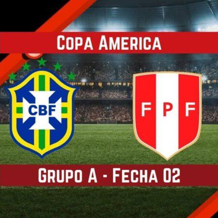 Brasil vs Perú   Pronósticos para apostar en la Copa América