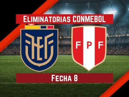 Ecuador vs. Perú | Pronósticos para apostar en Eliminatorias CONMEBOL Qatar 2022
