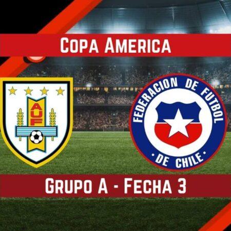 Uruguay vs Chile   Pronósticos para apostar en la Copa América