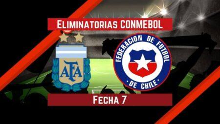 Argentina vs Chile   Pronósticos para apostar en Eliminatorias CONMEBOL Qatar 2022