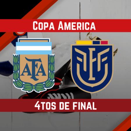 Argentina vs Ecuador (03 Jul ) | Pronósticos para apostar en la Copa América