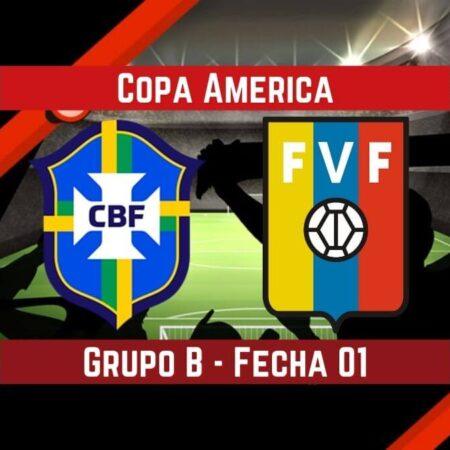 Brasil vs Venezuela   Pronósticos para apostar en la Copa América