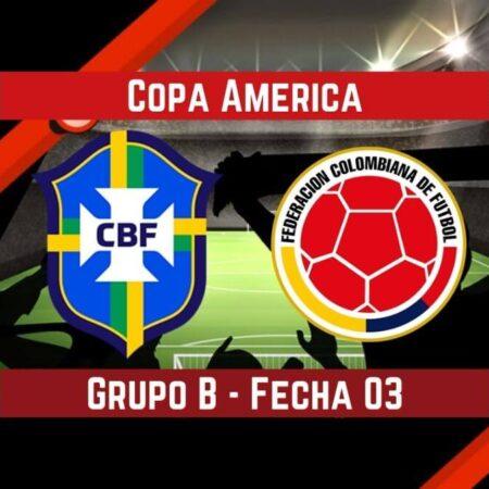 Brasil vs Colombia (23 Jun) | Pronósticos para apostar en la Copa America