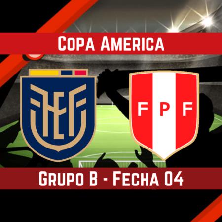 Ecuador vs Perú (23 Jun) | Pronósticos para apostar en la Copa América