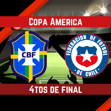 Brasil vs Chile (02 Jul ) | Pronósticos para apostar en la Copa América