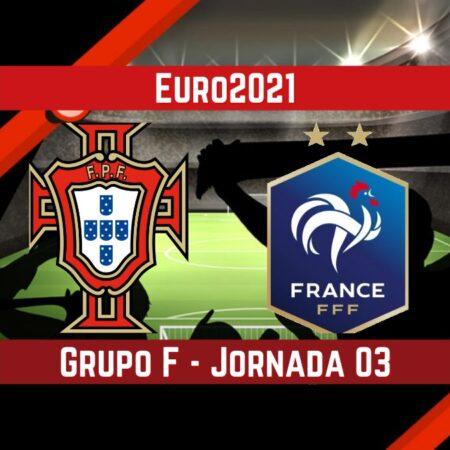 Portugal vs Francia (23 Jun) | Pronósticos para apostar en la Eurocopa