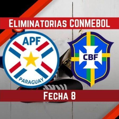 Paraguay Vs Brasil   Pronósticos para apostar en Eliminatorias CONMEBOL Qatar 2022