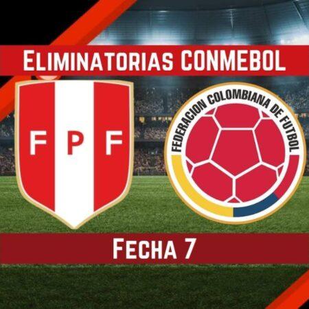 Perú vs Colombia   Pronósticos para apostar en Eliminatorias CONMEBOL Qatar 2022