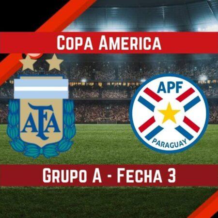 Argentina vs Paraguay   Pronósticos para apostar en la Copa América