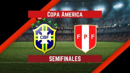 Brasil vs Perú (05 Jul)   Pronósticos para apostar en la Semi-Final de la Copa América