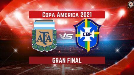 Argentina vs Brasil (10 Jul)   Pronósticos Para Apostar en la final de la Copa América