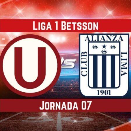 Pronósticos Liga 1 Betsson   Apostar en el partido Universitario vs Alianza (18 Ago.)