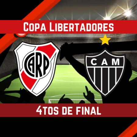 Pronósticos Copa Libertadores | Apostar en el partido Atlético Mineiro vs. River Plate (18 ago.)