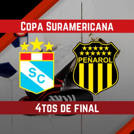 Pronósticos para apostar en los 4rtos de Final de la Copa Sudamericana | Sporting Cristal vs Peñarol (11 Ago.)