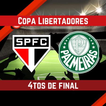 Pronósticos para apostar en la Copa Libertadores | Sao Paulo vs. Palmeiras  (10 Ago.)