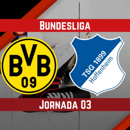 Pronósticos para la Bundesliga   Apostar en el partido Dortmund vs Hoffenheim (27 Ago.)