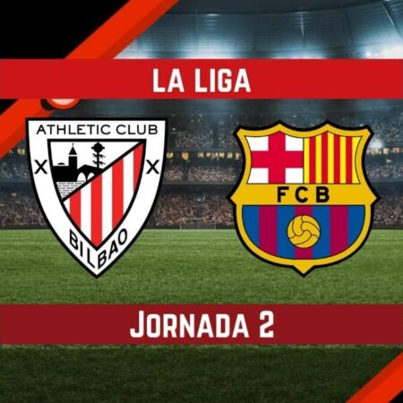 Pronósticos La Liga Betsson   Apostar en el partido Athletic Bilbao vs Barcelona (21 Ago.)