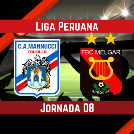 Pronósticos en la Liga 1 Betsson  Apostar en el partido Carlos Mannucci vs Melgar  (21 Ago.)