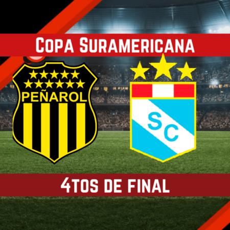 Peñarol vs Sporting Cristal | Pronósticos para apostar en los 4tos de Final de la Copa Sudamericana (18 Ago.)