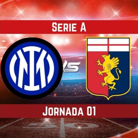Pronósticos en la Serie A | Apostar en el partido Inter vs Génova  (21 Ago.)