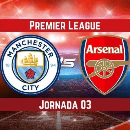Pronósticos para Premier League   Apostar en el partido Manchester City vs Arsenal (28 Ago.)