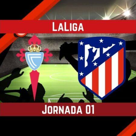Pronósticos LaLiga   Apostar en el partido Celta de Vigo vs. Atlético de Madrid (15 Ago.)