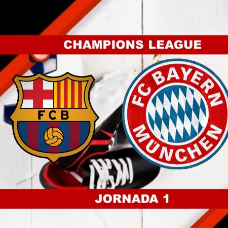 Pronósticos para Champions League   Apostar en el partido Barcelona vs Bayern Munich (14 Sept.)